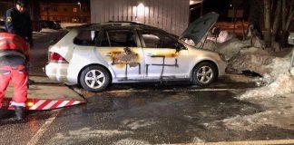 متطرفون يحرقون سيارة مواطن إريتري شمالي السويد