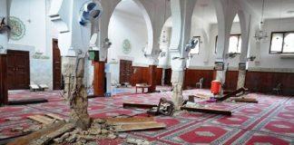 فاس تنجو من كارثة بعد صلاة الفجر.. انهيار أربع سواري بمسجد الصحراء