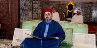 أمير المؤمنين يترأس بمسجد حسان بالرباط حفلا دينيا كبيرا إحياء لليلة 27 من رمضان 1439هـ