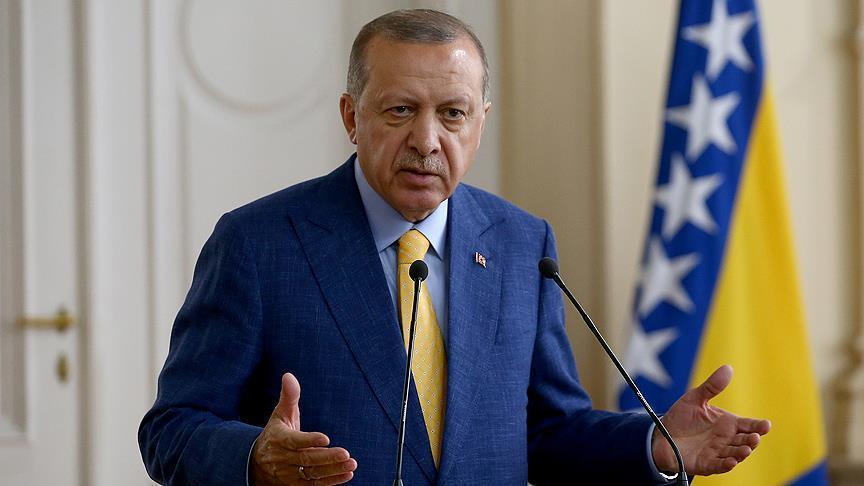 أردوغان: الكلمات تعجز عن وصف النهج الأمريكي تجاه تركيا