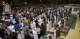 صور مؤثرة من مصلى التراويح بحي الإنبعاث بمدينة سلا
