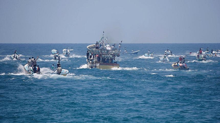 البحرية الإسرائيلية تعتقل صيادين بقطاع غزة