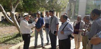 رئيس جماعة اتحادي بسيدي إيفني يطير لإسرائيل