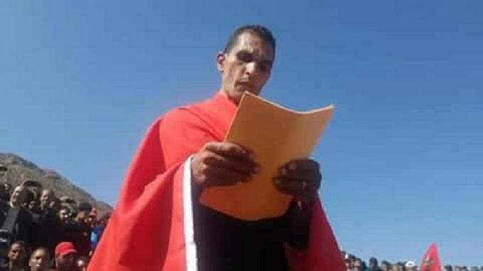 فيديو لحظة هروب صاحب الكنز وأنباء عن اعتقاله