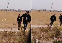 فيديو.. حالة كريساج صباح اليوم بين الشرارد و44 من طرف عصابة إجرامية لهم دراجة نارية نوع c90