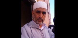 فيديو.. الإمام والخطيب المعزول يرجع من جديد لمهاجمة مندوب الأوقاف بالعيون