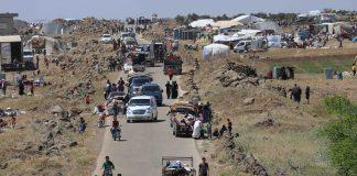 الأمم المتحدة: 325 ألف شخص فروا من القتال جنوب غربي سوريا