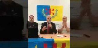خطير.. إرهابي أمازيغي من أصول يهودية يدعو أمازيغ الجزائر لحمل السلاح (فيديو)