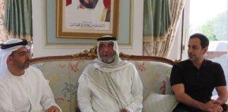 ظهور نادر لرئيس الإمارات في فرنسا