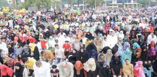 الأزهر ودار الإفتاء بمصر: لا يجوز وقوف الرجال بجوار النساء في صلاة العيد