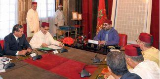 الملك محمد السادس يترأس بالقصر الملكي بالرباط اجتماعا خصص لإشكالية الماء