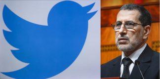"""""""تويتر"""" توقف الحساب الرسمي لرئيس الحكومة سعد الدين العثماني"""
