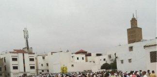 عيد الفطر من المسجد الأعظم بمدينة سلا.. تكبير وصلاة ودعوة لصلة الرحم