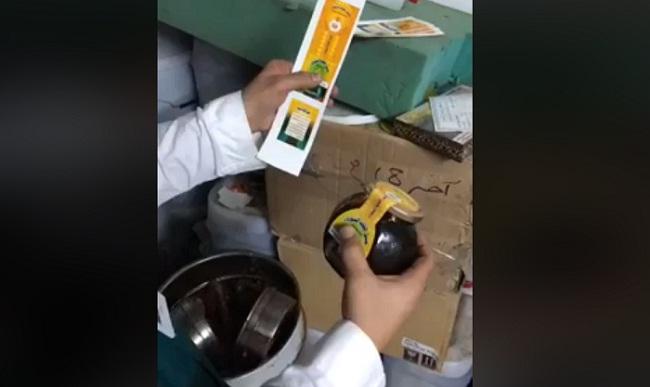 فيديو.. العثور على مصنع يحول زيت السيارات إلى عسل يصنع في السعودية ويصدر إلى الخارج