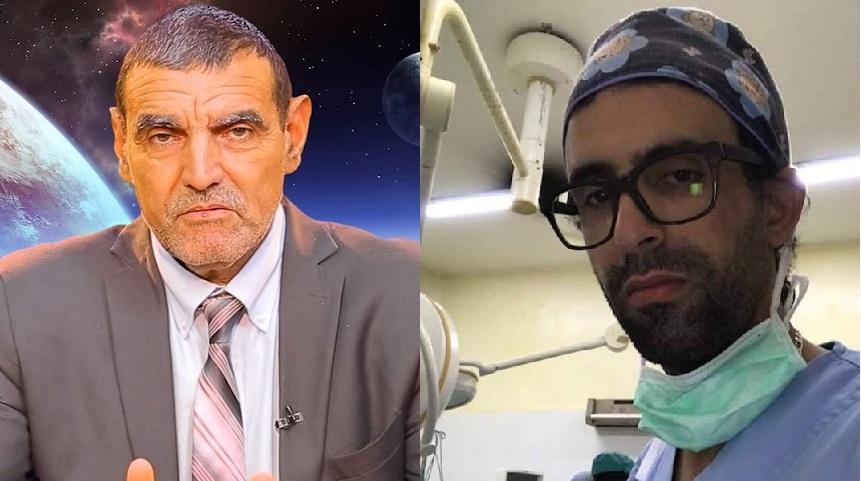 د. فايد يتضامن مع د.الشفعي، ويقول له: ابتسم دائما لتغيظ هؤلاء، لأنهم لا يبتسمون