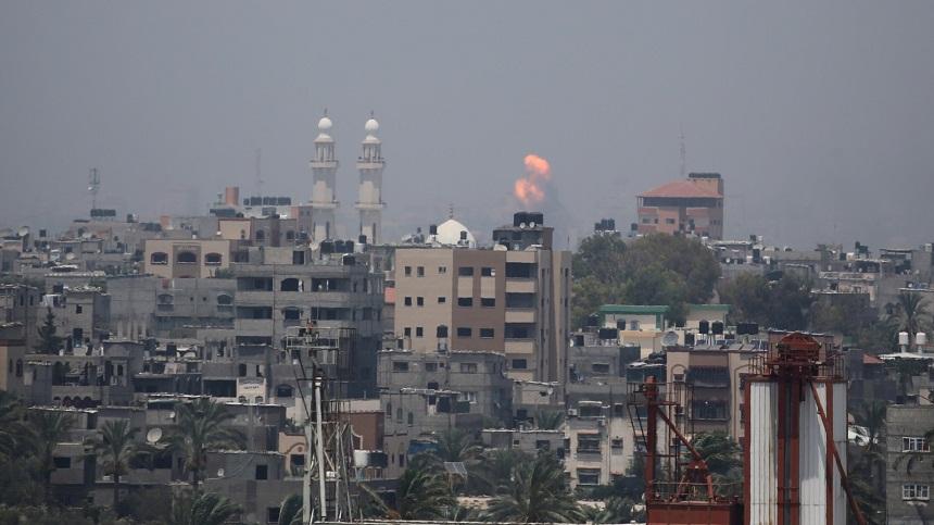 3 شهداء في قصف صهيوني لمواقع في قطاع غزة