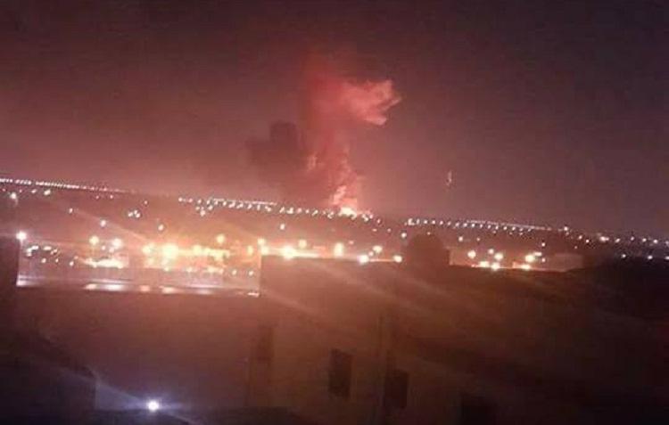 بالفيديو.. انفجار خزان وقود في منطقة مجاورة لمطار القاهرة