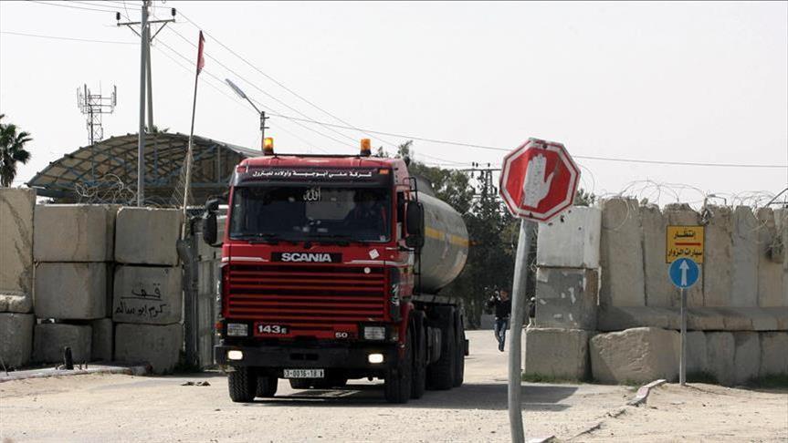 """""""حماس"""": إغلاق إسرائيل معبر كرم أبو سالم """"جريمة ضد الإنسانية"""""""