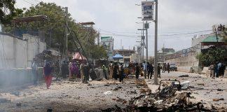 هجوم يستهدف وزارة الداخلية الصومالية في العاصمة مقديشو