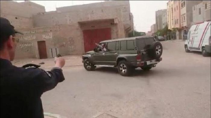 شرطي يصيب شخصا هاجم منزله بسيف بثلاث رصاصات