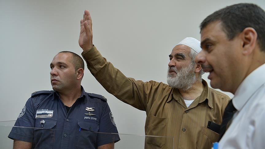 """محكمة """"إسرائيلية"""" تمدد القيد الإلكتروني على الشيخ صلاح 3 أشهر"""