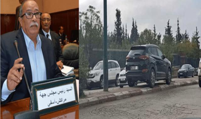 ابنة اخشيشن ذات 18 سنة.. سياقة سيارة الدولة بدون رخصة وبدون أية وثيقة وتخريب ممتلكات