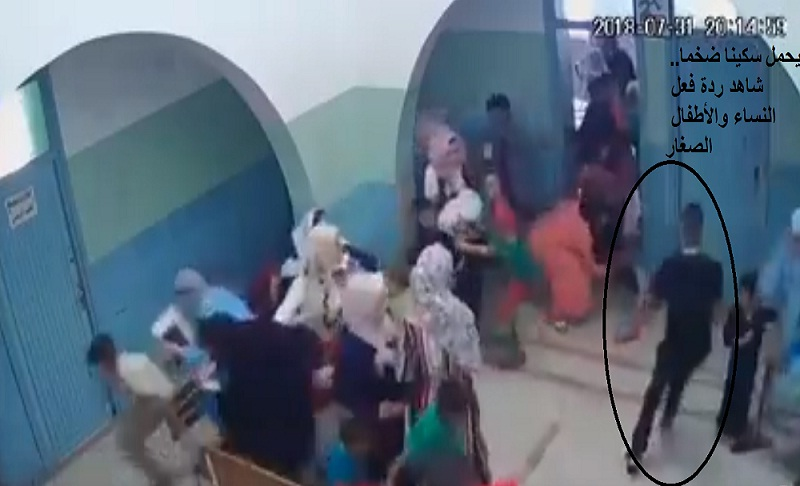 فيديو.. انفلات أمني خطير بمستوصف بمدينة سلا يتسبب في هلع كبير في صفوف الأطفال الصغار وأمهاتهم