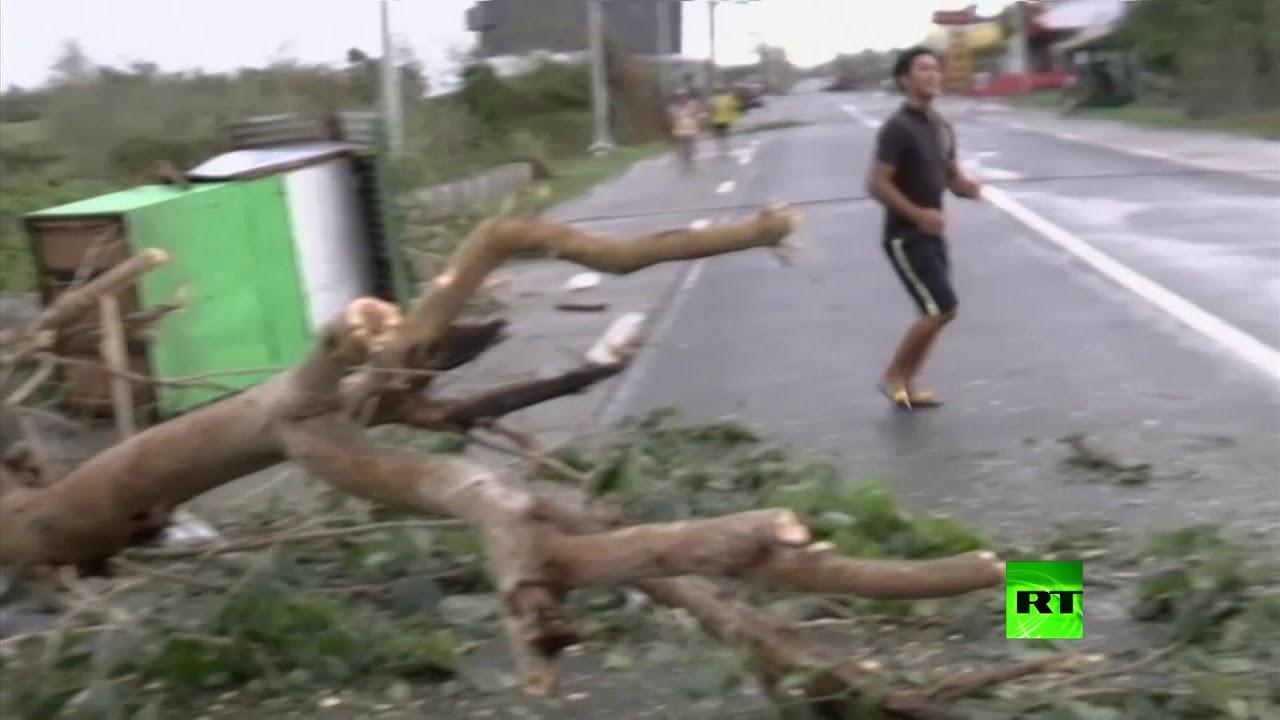 """الفلبين.. 127 قتيلا حصيلة ضحايا حوادث الإعصار """"مانغكوت"""""""
