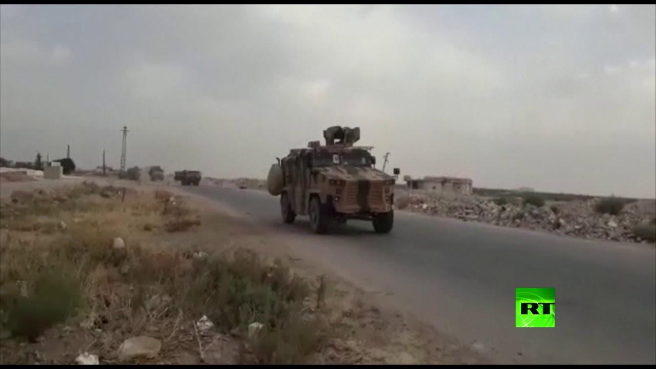 """الجيش التركي ينهي أول دورياته بمنطقة """"خفض التوتر"""" بإدلب"""
