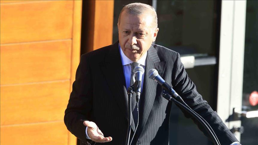 أردوغان: حفتر غير مهتم بالحل السياسي في ليبيا
