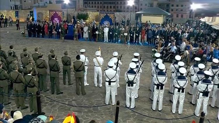 إسبانيا تستفز المغرب بعرض عسكري ضخم في مليلية المحتلة