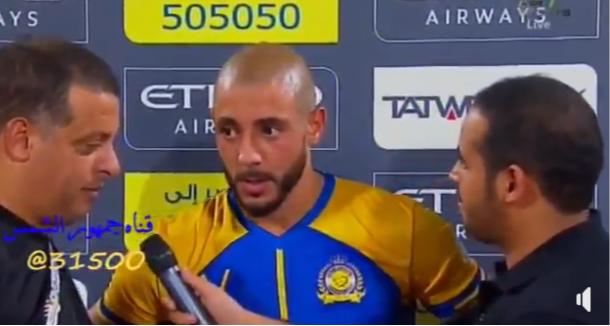 فيديو: مهزلة العامية.. الصحفي يسأل بالعربية واللاعب لمرابط يجيب بالعربية ومترجم بالعربية!!