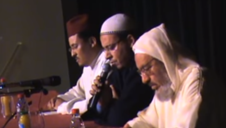فيديو.. قراءة رائعة للشيخ عمر القزابري رفقة الشيخ بلمدني ترجع إلى سنة 1430هـ/2009 بفرنسا