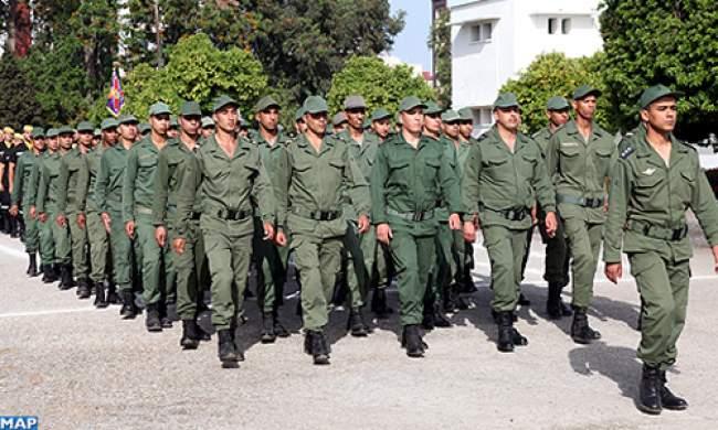 القاعدة الجوية الثالثة للقوات المسلحة الملكية بالقنيطرة تستقبل الفوج الأول من المدعوين للخدمة العسكرية