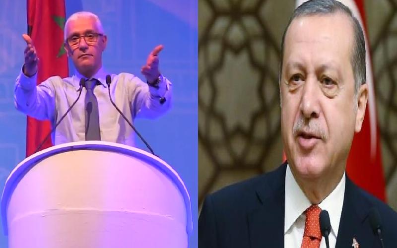 استمرار حملة استنكار تصريحات الوزير الطالبي العلمي ضد أردوغان