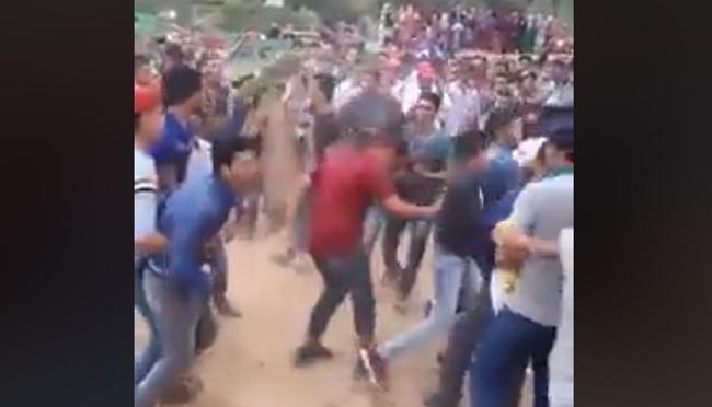 فيديو مثير.. الجدبة على شوك الصبار!! (حمق وجنون وصرع)