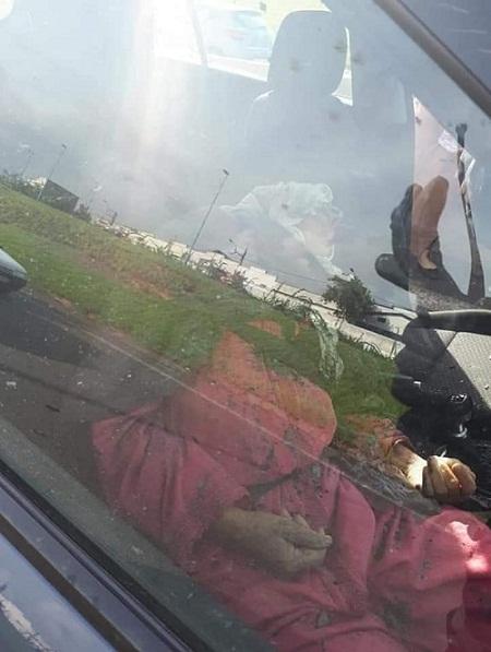 صور.. مصرع سيدة وإصابة ابنتها إثر سقوط جزء من قنطرة على سيارتهما بالدار البيضاء