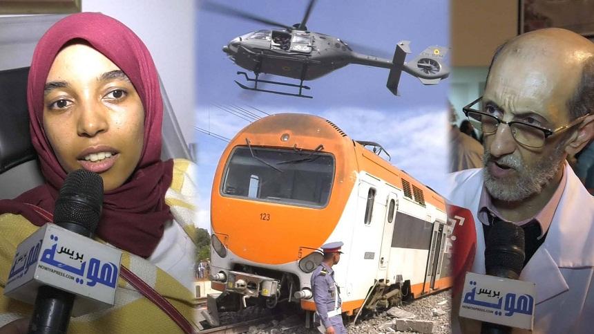 فيديو.. مغاربة يتضامنون مع جرحى قطار بوقنادل ويتبرعون بدمائهم