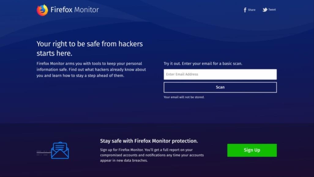 """""""فايرفوكس مونيتور"""" تنبهك في حالة تسريب البيانات"""
