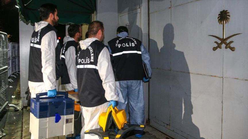 فريق تحقيق تركي ثانٍ يدخل القنصلية السعودية باسطنبول