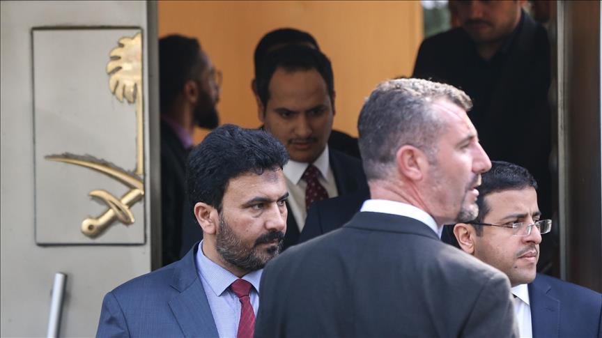 النائب العام السعودي يغادر قنصلية بلاده في إسطنبول