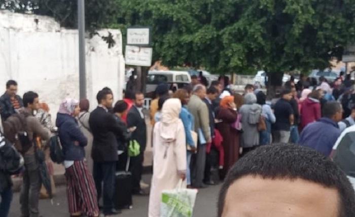 غضب شعبي من رفع سعر تذكرة السفر بين القنيطرة الرباط بعد فاجعة القطار