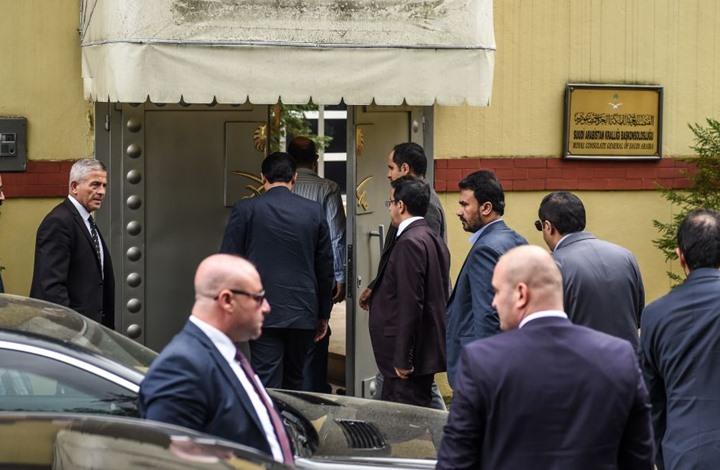 مسؤولون سعوديون وأتراك يلتقون للتحقيق في مصير خاشقجي