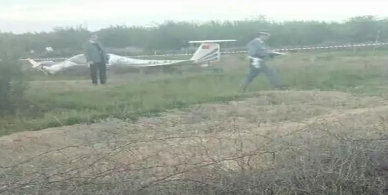سقوط طائرة فوق منطقة فلاحية بمراكش