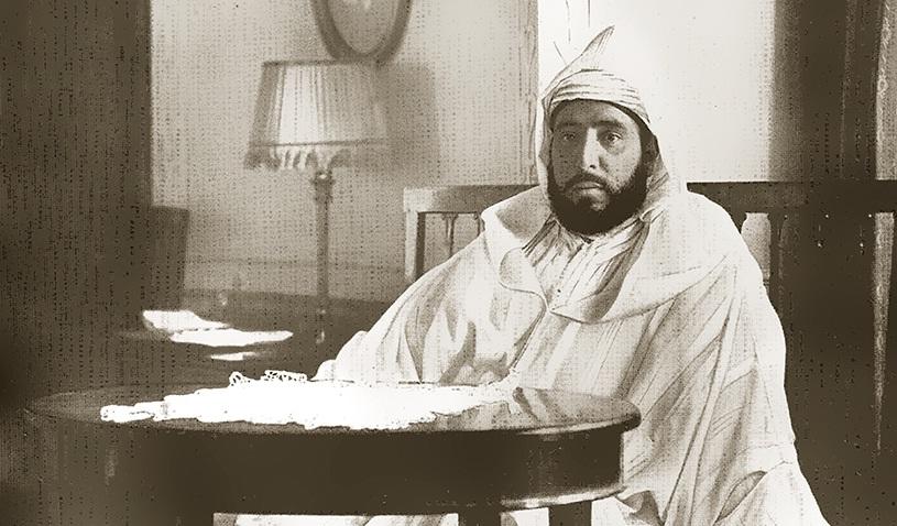 مهندس أجنبي يلتمس العمل سنة 1911 من المولى عبد الحفيظ