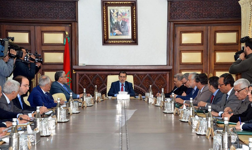 جدول أعمال مجلس الحكومة الخميس 31 يناير 2019
