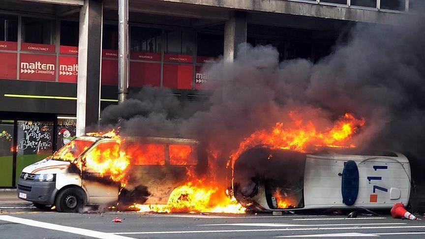 """مقتل متظاهر من """"السترات الصفراء"""" في بلجيكا"""