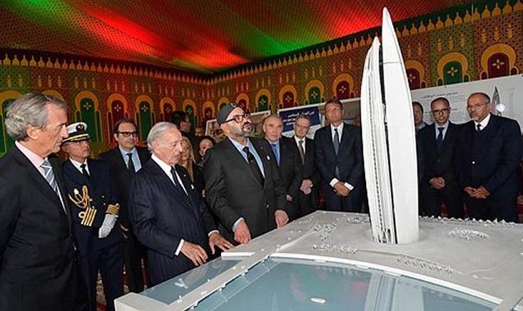أشغال بناء برج محمد السادس بسلا تتقدم وفق البرنامج المتوقع