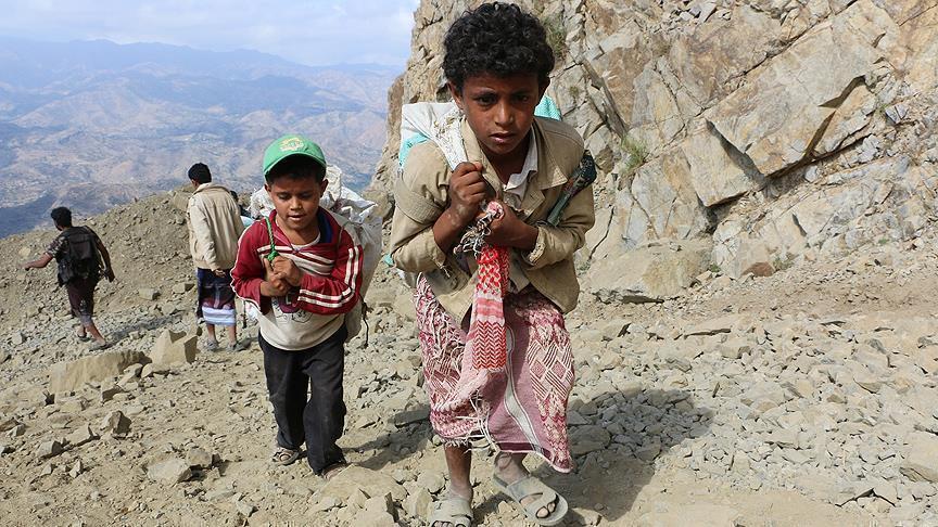 الأمم المتحدة: نزوح 350 ألف يمني خلال 2019