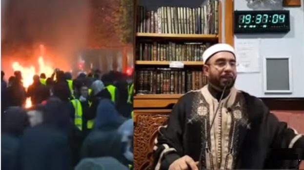 فيديو.. هذا ما نصح به الشيخ بشير بن حسن الشباب المسلم حول احتجاجات فرنسا